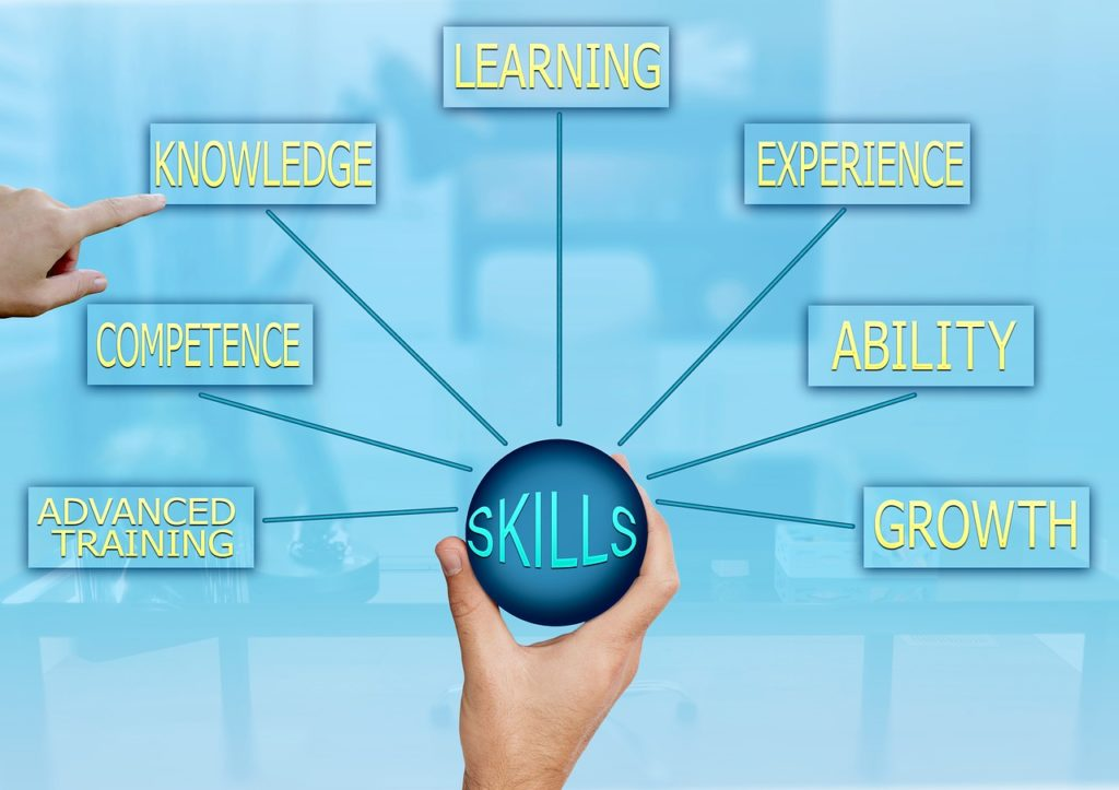 skills, competence, knowledge